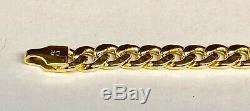 10kt Yellow Gold Miami Cuban Curb Men's Link 20 4.5 mm 10 grams chain/Necklace