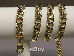 14k Gold Miami Cuban Curb Link 20 8 mm 38 grams chain/Necklace (REL)