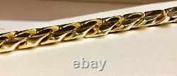 14k Solid Yellow Gold Miami Cuban Curb Link 30 16mm 500+ grams chain/Necklace