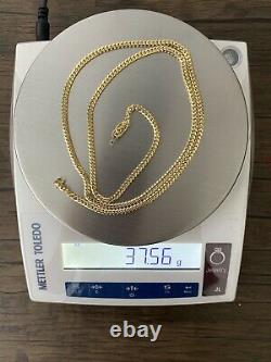 14k Solid Yellow Gold Miami Cuban Curb Link Chain 30-4 mm-37.5 Gr-AG14C674Y