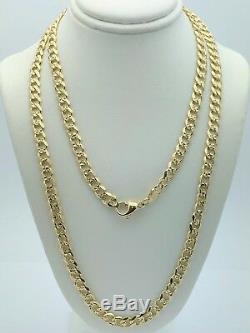 14k Yellow Gold Cuban Link Chain Necklace 30 5.9mm 42.3 grams